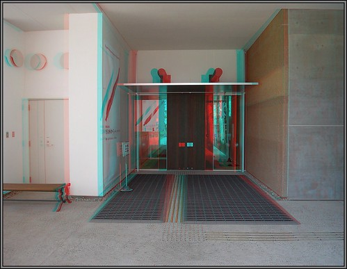 3D兵庫県立考古博物館-anaglyph-Hyogo Prefectual Museum of Archaeology-R0012595