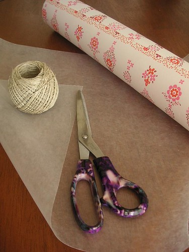Potted plant wrapping materials