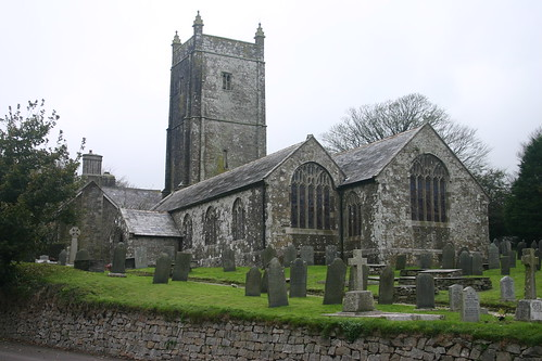 Davidstow Church by ocifant.