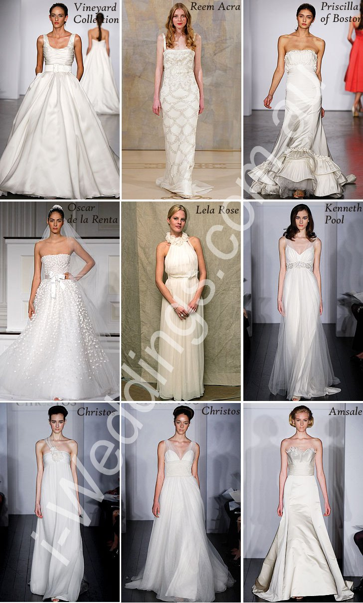iLoveThese Top Gowns from InStyle Weddings