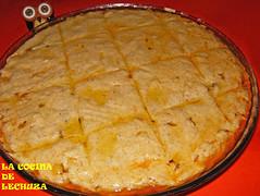 Empanada millo cortes cuadrados