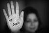 Ti Amo ❤ (A.A.A) Tags: blackandwhite bw white black canon photography hand mark iii notme iloveyou aaa amna irresistible eos1ds althani canoneos1dsmarkiii amnaaalthani dedicatedtonas