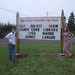 James Langer and Lisa Moore in Sandy Cove, NS