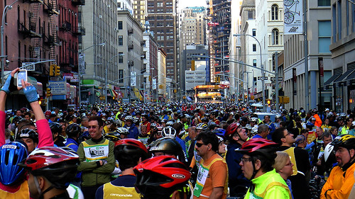 Many Many Many Cyclists