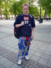 Noruego estudiante de economía
