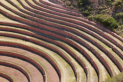 playing with circular lines (approaching!) (daniel virella) Tags: lines inca wall cuzco architecture america stones circles cusco curves steps perú andes walls agriculture sacredvalley moray incan vallesagrado enginnering tawantinsuyu
