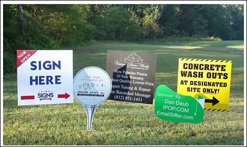 Coroplast Yard Signs