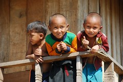 Children on balcony (Noel Molony) Tags: family children rice health stories waterpumps healthcentre monvillage concernstaff educationonhealth hamkongvillage haumeuangdistrict pakhataivillage pasortvillage salongvillage salorvillage samhouay sopkhamvillage tarkaivillage thathvillage