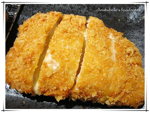 晃士家乳酪豬排Japanese Deep-fried pork chop with cheese
