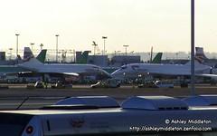 2 Concordes nose to nose (Ashley Middleton Photography) Tags: england london concorde egllheathrow