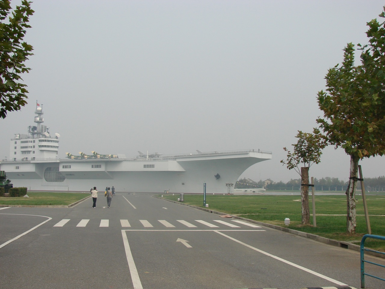Fake Chinese aircraft carrier | Shanghaied Weblog