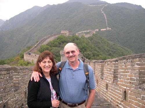 Climbing the Great Wall, Mutianyu Section!
