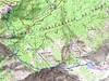 Carte du Niolu Sud avec le lac de Ninu (Nino)