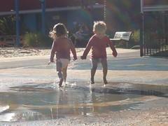 Jumping (brucew_o) Tags: birthday playground flyingfox