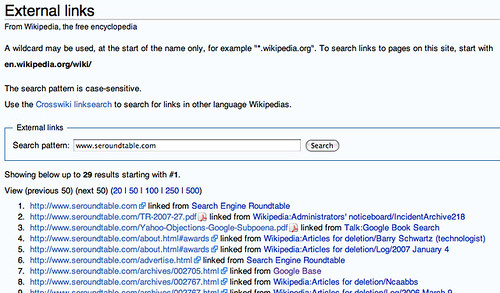 Wikipedia Link Search