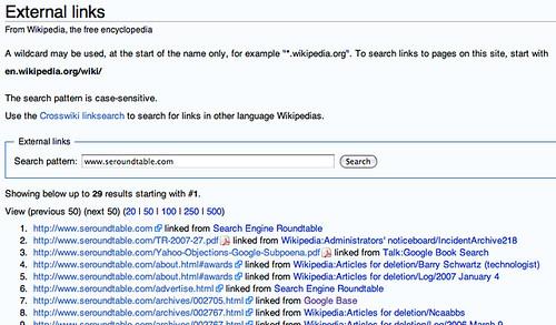 Wikipedia Link Search
