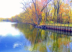 If a picture paints a thousand words.... (nushuz) Tags: november fall reflections watercolor calm pastels access hazy foilage breathtaking breezy autumnsend instantfave flickrgold platinumphoto anawesomeshot ripplesonthewater top20autumn picturepaintsathousandwords