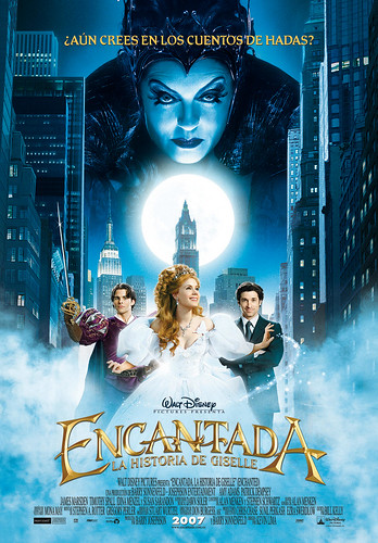 Poster Encantada la historia de Giselle