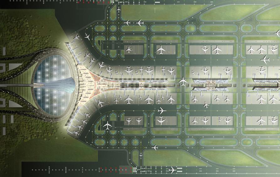 Beijing Airport Aerial