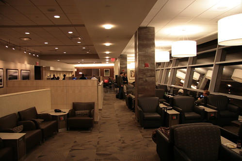 American Airlines First Class Lounge
