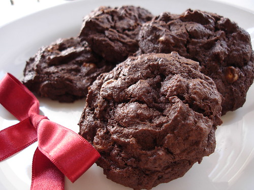 Jessica's super chocolate cookies