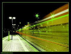 green speed (sediama (break)) Tags: station germany railway bahnhof hannover sbahn breathtaking nostairs citytrain arschkalt sediama bysediamaallrightsreserved