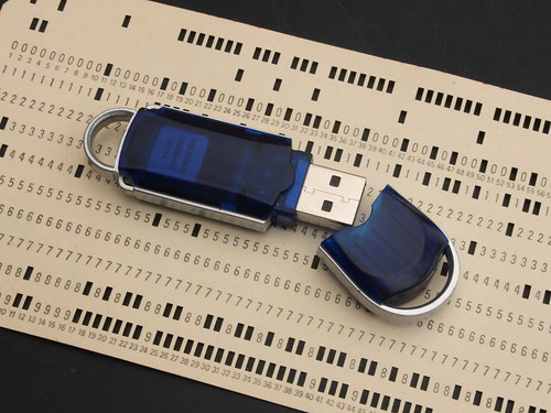 Data storage - old and new by Ian-S on Flickr