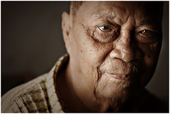 Old Ondoy (Ryan Macalandag) Tags: dark gloomy sad philippines grandfather bohol lolo tearyeyed tigulang ryanmacalandag ondoy