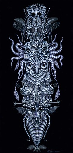 NeoTrog · God's Half Brother · SPINAL TOTEM TATTOO