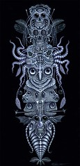 SPINAL TOTEM TATTOO (rsconnett) Tags: dog fish abstract eye tattoo illustration angel drunk ego painting death see bacon artist acrylic outsider circus surrealism clown fear extreme birth dream machine pop dreaming alcoholism robots psycho shit dreams drug expressionism horror devil impressionism violence dread radioactivity monstrosity euphoria cyborg dali psychotic addiction junkie addict futuristic drunkard lowbrow dogpoop medication mental infernal superego connett psychoactive morphia rsconnett