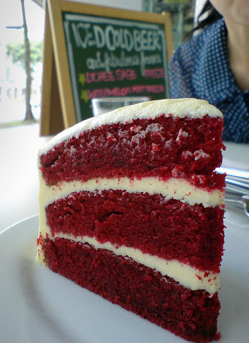 The Old-Fashioned Red Velvet Cake