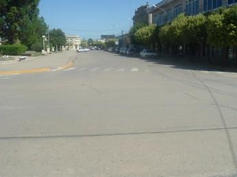 Calle Colón -entre Italia y Av. San Martin- que el domingo 20 será PEATONAL