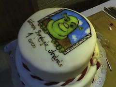 Schrek (pinter_szilvi) Tags: paint marzipan torta