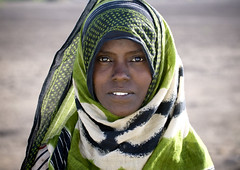 Veiled Afar girl, Danakil, Ethiopia (Eric Lafforgue) Tags: africa portrait people beauty face horizontal photography day veiled veil african culture tribal beautifulwoman females tradition ethiopia tribe ethnic beautifulpeople adultsonly oneperson frontview confidence traditionalculture hornofafrica ethnology ethiopian afar eastafrica femininity traditionalclothing realpeople colorimage onewomanonly lookingatcamera traveldestination danakil 1people pastoralist indigenousculture africanculture onegirlonly asaita mg1077 assayta africantribalculture