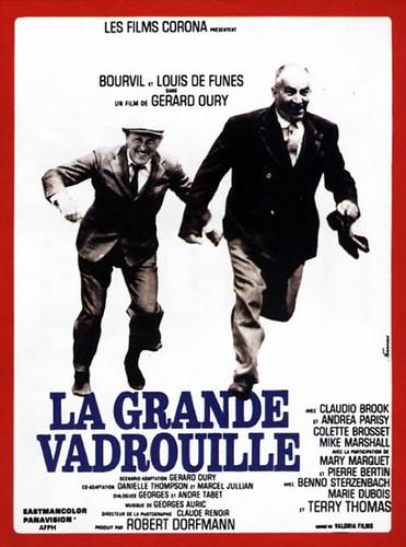 """""""La Grande Vadrouille"""" Movie Poster par Vineyard Cafe"""