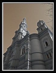 Ascend to Heaven (Pluck'n Bach) Tags: blackwhite churches cathedrals desaturation steeples