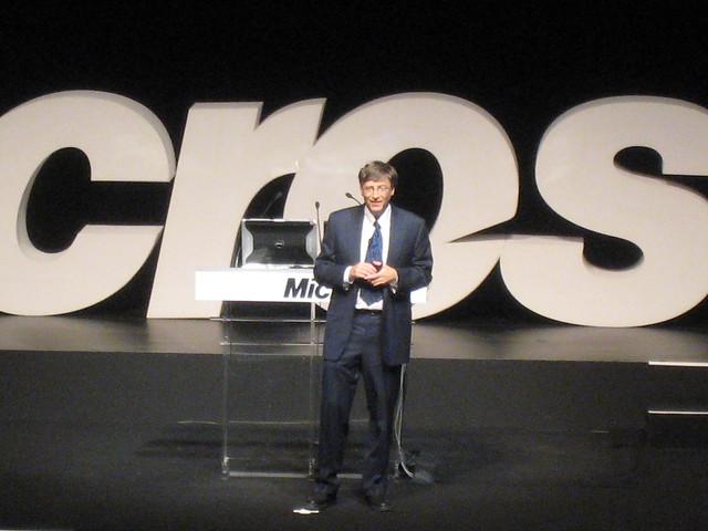 Bill Gates in Greece