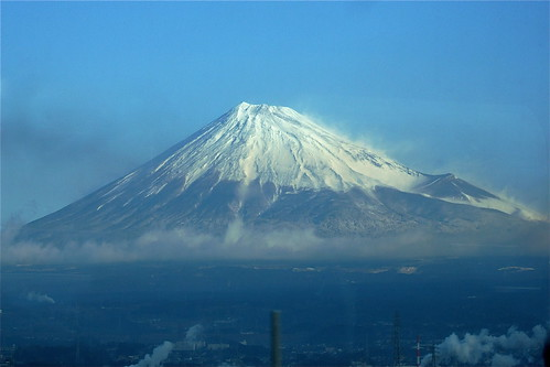Day 4, Fuji from the Shinkansen