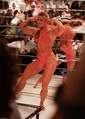 FiBo 1989 - Anja Langer (0008) (Thomas Becker) Tags: show female muscle 1988 posing cologne fair kln bodybuilding fibo 1989 bodybuilder athlete fitness messe langer anja reebok fbb msolympia anjalanger fitnessbodybuilding 03061965