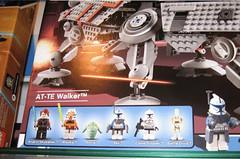 clone wars 3D Lego: Anakin, Ahsoka, Rotta, Rex, trooper, droid