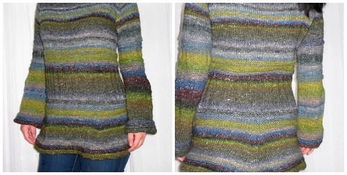 Boatneck Bluebell from Fitted Knits
