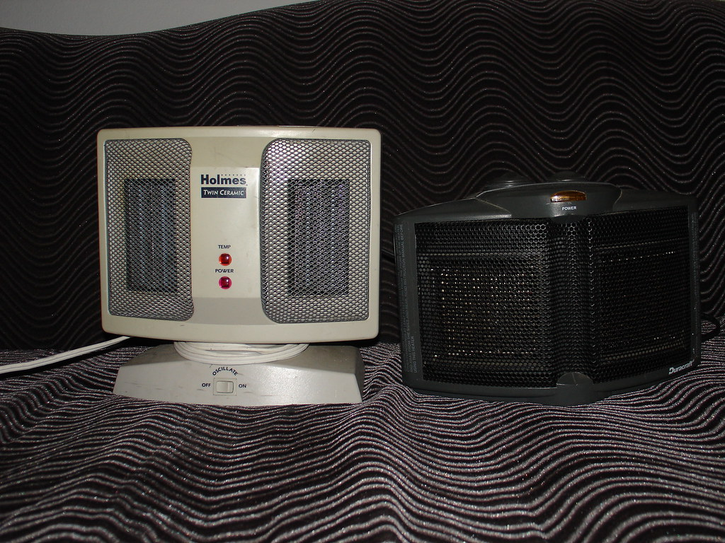 2 Space Heaters