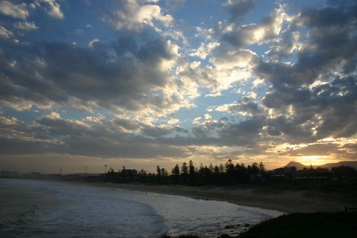 Wollongong sunset.