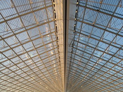 (xNstAbLe) Tags: sky paris france lines architecture vanishingpoint airport perspective symmetry charledegaulle
