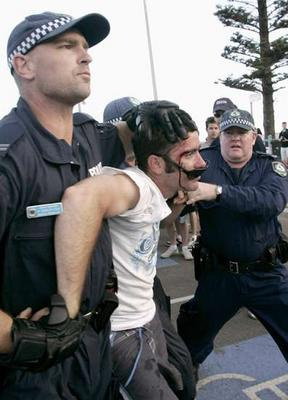 Cronulla riot man arrested