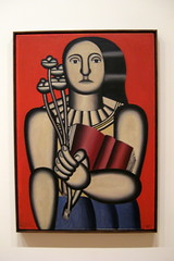 NYC - MoMA: Fernand Léger's Woman with a Book