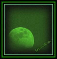 Nightvision Moon (Sharon's Shotz) Tags: sky moon daylight interestingness luna explore daytime blueskies nightvision picnik funwithphotos iamstillenviousofyourmoonshotsandyouknowwhoyouare moonintheday blahzaymoon