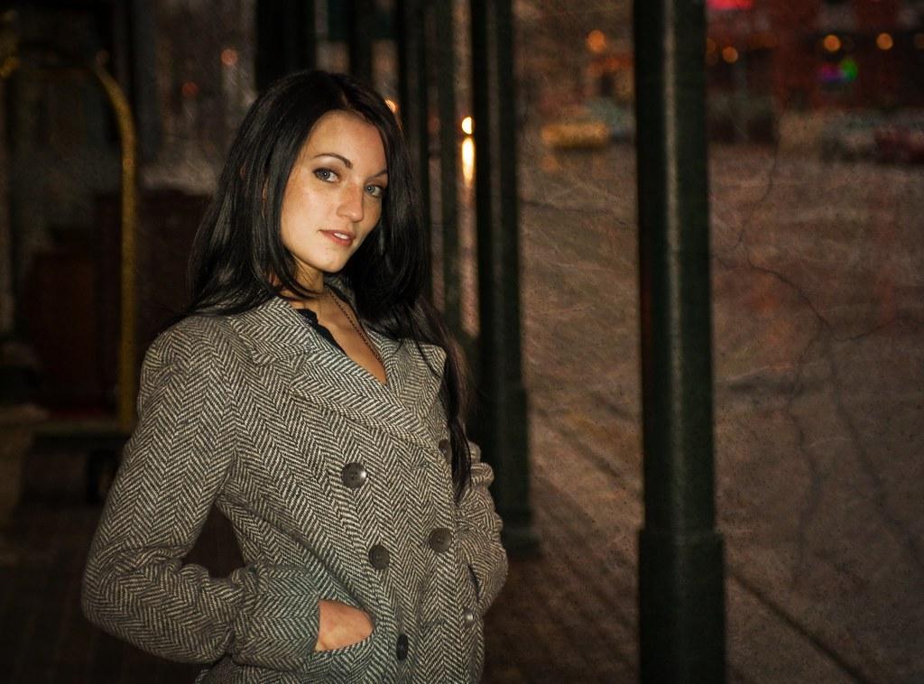 Jessa In the cold rain