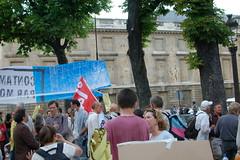 Manifestation anti-OGM du 13 mai 2008 (papyecoloencolere) Tags: paris manifestation ogm assembléenationale