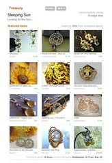 Yet another Treasury 080525 c (Black Daisy Designs) Tags: treasury sleepingsun